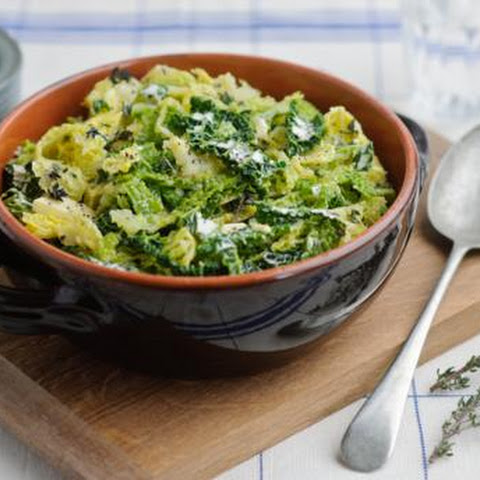 Thyme-buttered Cabbage