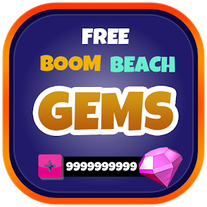 Gems for Boom Beach Prank , Get illimite gems for Boom Beach APK Icon
