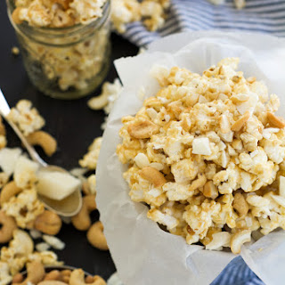 White Chocolate Peanut Butter Popcorn Recipes