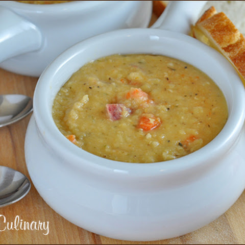 Crock Pot Lentil Soup with Kielbasa