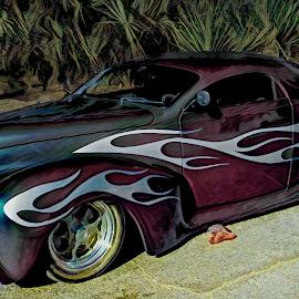 Cool Presentation by Dave Walters - Uncategorized All Uncategorized ( hot rod, street scene, classic car, colors, transportation )