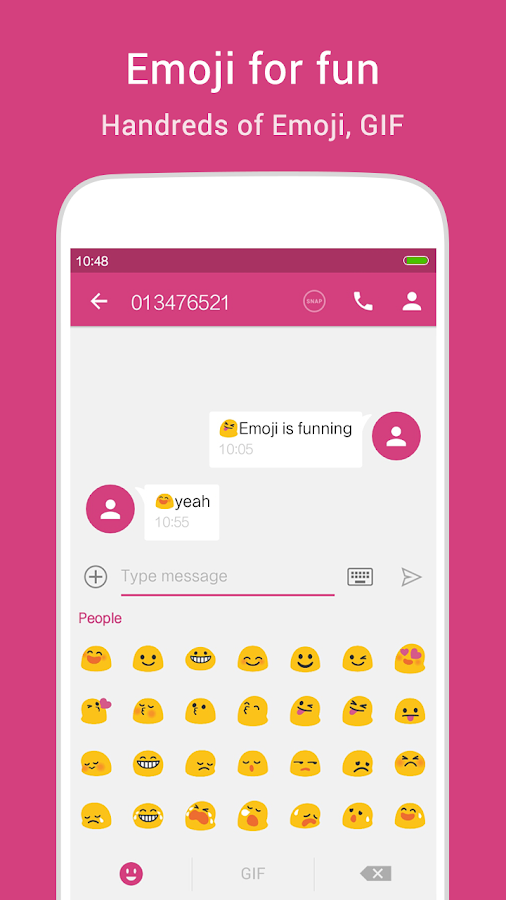 KK SMS - Cool & Best Messaging Screenshot 3