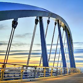 Columbus, Ohio Downtown by Aditya Shrivastava - Buildings & Architecture Bridges & Suspended Structures ( columbus )