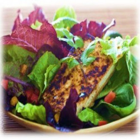 Low Carb Grilled Tofu Salad