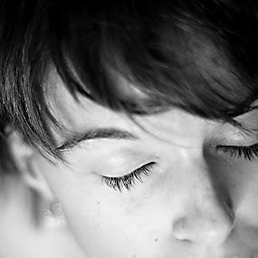 Self Portrait by Mallory Walsh-Ruggiero - People Portraits of Women
