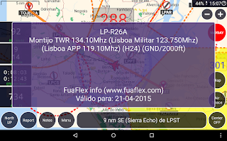 Screenshot of GPS Air Navigator