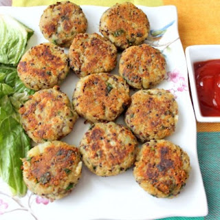 Dehli Street Food - Quinoa Potato Cakes
