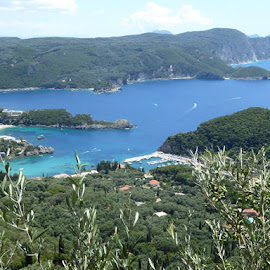 Corfu by Amanda Perkins - Landscapes Travel ( relax, tranquil, relaxing, tranquility )