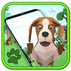 Cute puppy theme wallpaper (3D animation effects) For PC (Windows & MAC)