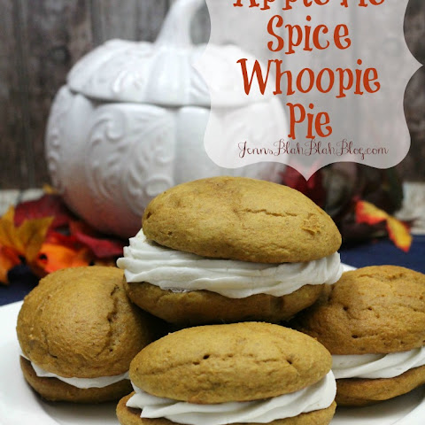 Apple Pie Spice Whoopie Pie