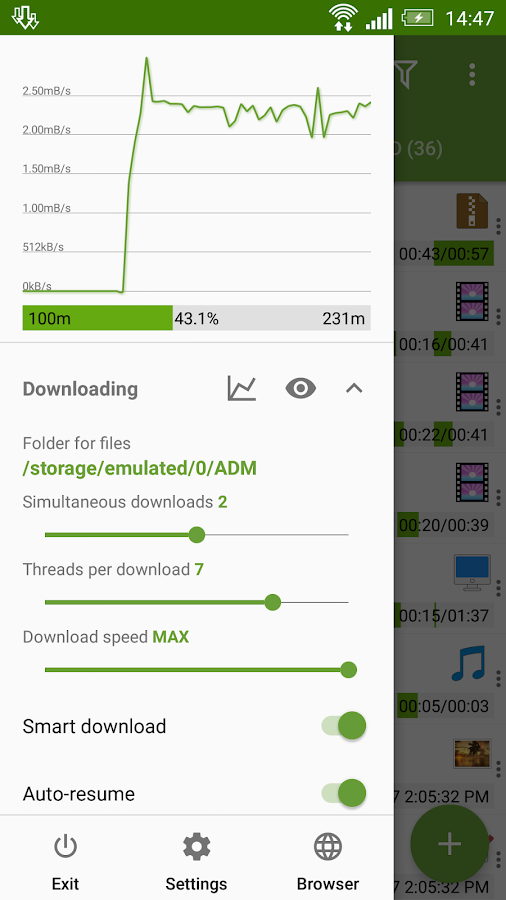 Advanced Download Manager Pro Screenshot 1
