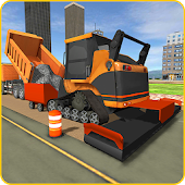 Road Builder City Construction APK for Bluestacks