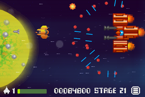 Space Galax Wing Defender - screenshot