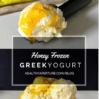 Honey Frozen Greek Yogurt