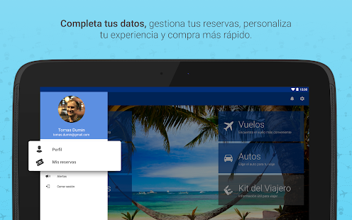 Free Despegar.com Hoteles y Vuelos APK for Windows 8