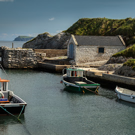 Harbor by George Nichols - Buildings & Architecture Other Exteriors ( water, harbor, stone, northern ireland, game of thrones )
