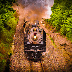 No. 844 by Ray Ebersole - Transportation Trains ( steam train, train, ok )