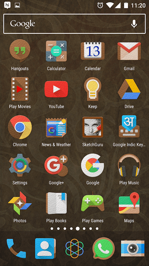 LeatherEx Icon Pack Screenshot 4