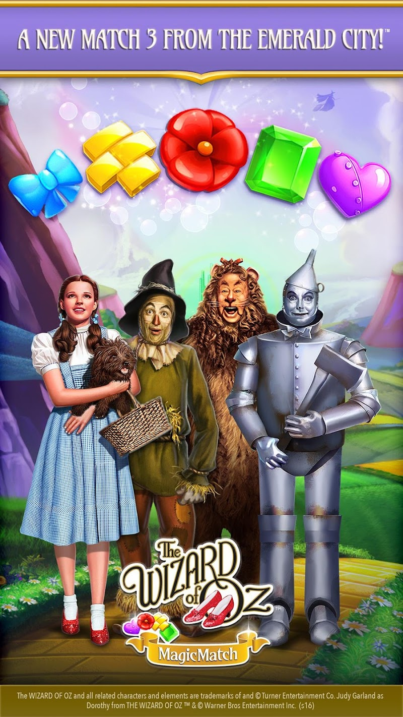 The Wizard of Oz Magic Match 3 Screenshot 0