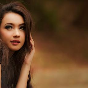 fell my beauty  by Lucky  Ariya wijaya - People Portraits of Women