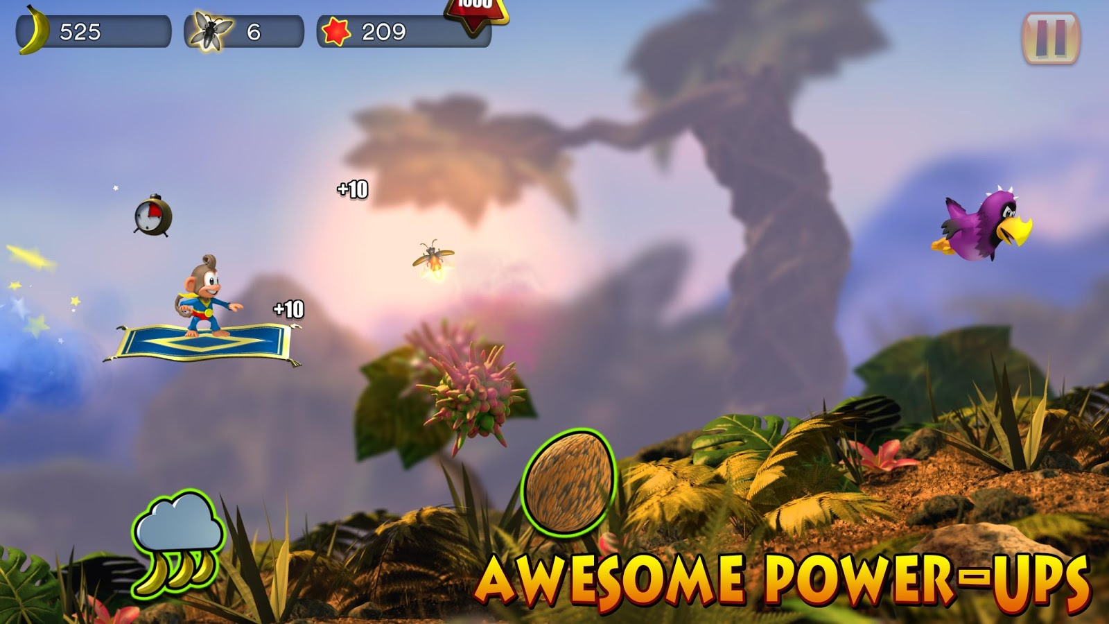 Chimpact Run (Pay Once No-IAP) Screenshot 1