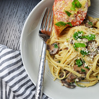 The Best Mushroom And Cream Sauce Spaghetti