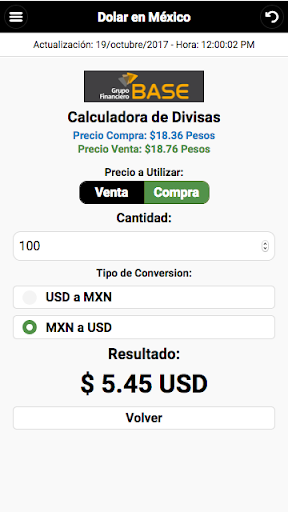 Dollar Price in México screenshot 5