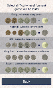 Game Three rubles: coin puzzle APK for Windows Phone