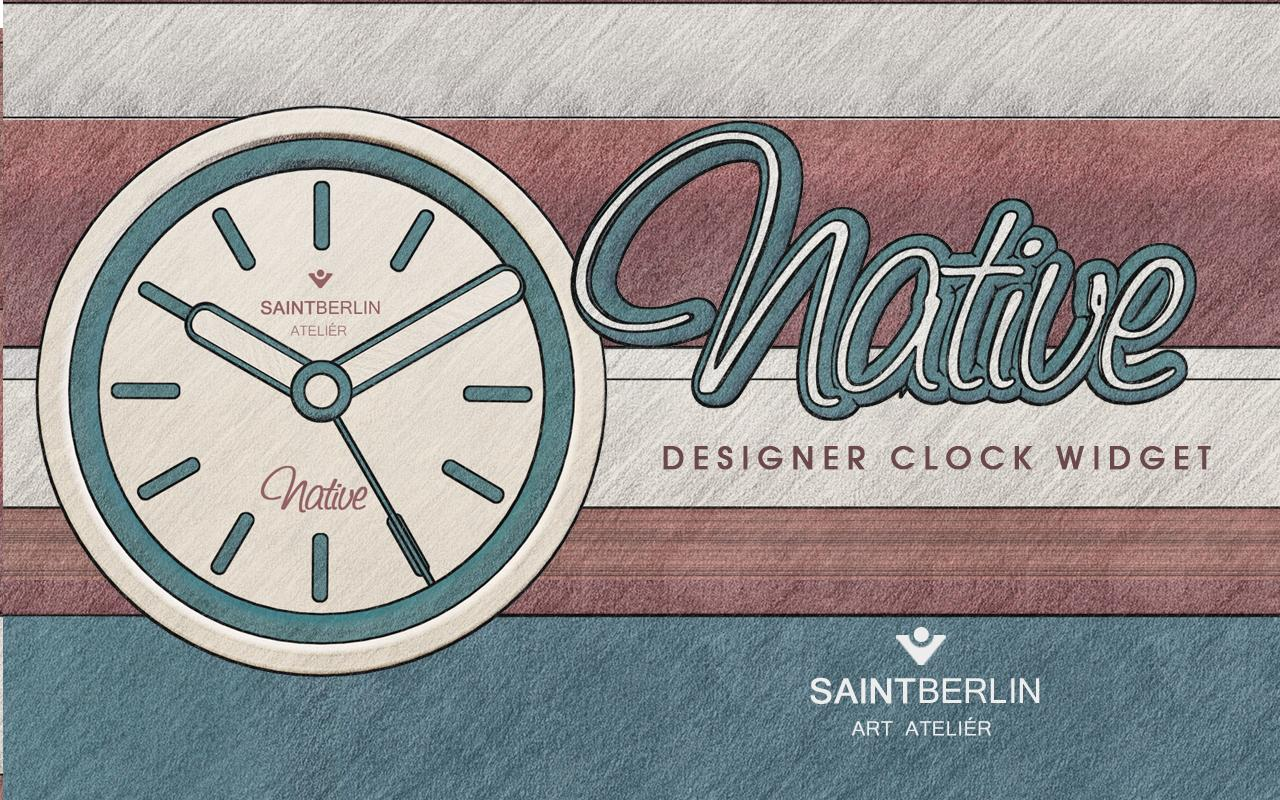 Native Clock Widget Screenshot 2