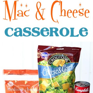 Macaroni And Cheese Casserole With Cream Of Mushroom Soup Recipes