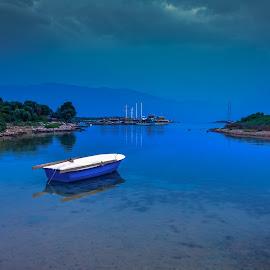 Sedir Island, Turkey by Arif Sarıyıldız - City,  Street & Park  Vistas ( sedir island, mediterranean, travel photography, reflections, turkey, marmaris, gökova, boat, sea )