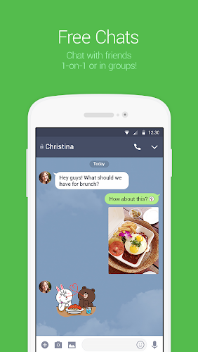 LINE: Free Calls & Messages Android App Screenshot
