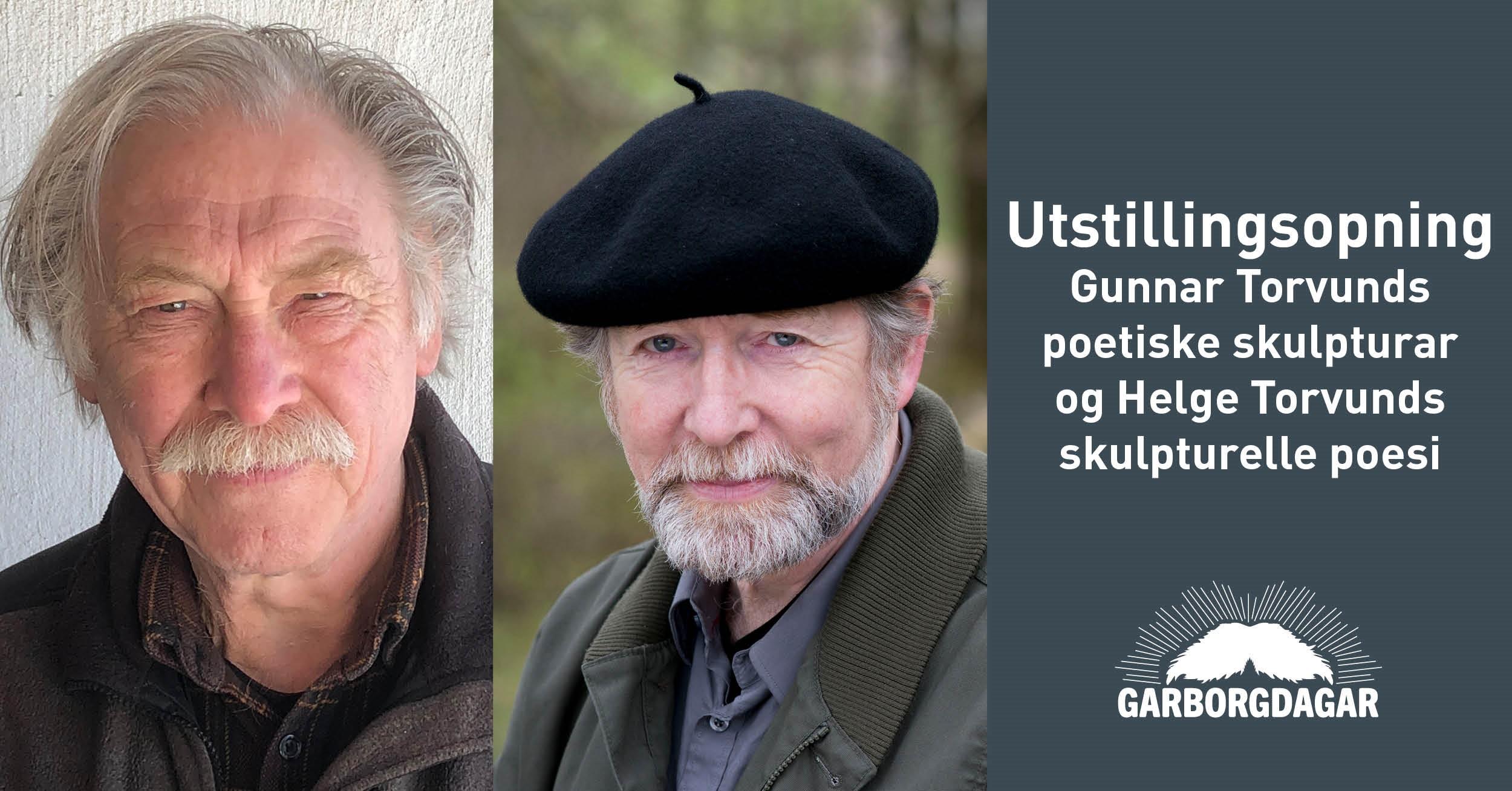 Utstillingsopning: Gunnar Torvund   Song i stein. Bøn i bronse. Poesi i pleksiglas.