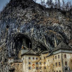 Erazem by Andreja Svenšek - Buildings & Architecture Public & Historical ( history, slovenia, caves, castle, postojna, travel, cave, game of thrones, travel photography, historic, gloomy, knight,  )