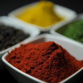 Texture by Tanya Greene - Food & Drink Ingredients ( product photography, paprika, stock, pepper, parsley, peppercorn, curry )