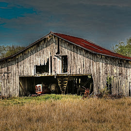Barn by Ron Olivier - Buildings & Architecture Decaying & Abandoned ( barn )