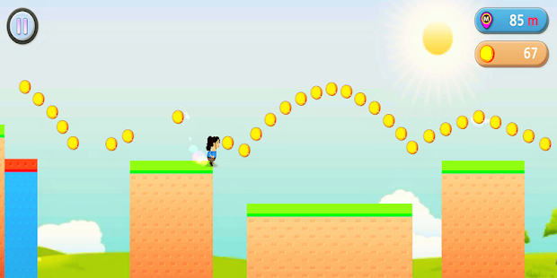 WoMan Runner - screenshot