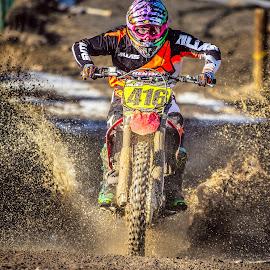 Jesse Valdez by Tyler Johnson - Sports & Fitness Motorsports ( motocross, racing, moto, dirtbike, sports )