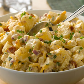 Cheddar & Bacon Potato Salad