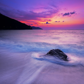 Sunset Batu Ferengghi by Zackri Zim's - Landscapes Weather ( canon, zackri zim's, vertorama, 60d, penang, malaysia, kitlens, batu ferengghi )