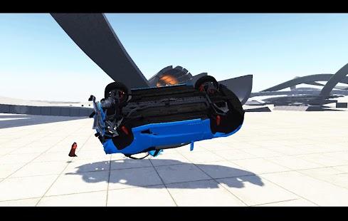 Auto Crash Simulator Racing Beam X Motor Stil android spiele download