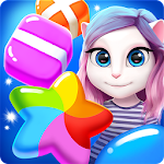 Talking Angela Color Splash Icon