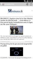 Screenshot of Journaux et magazines français