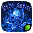 FireSkull GO Keyboard Theme