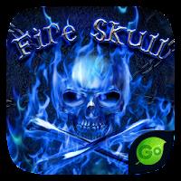 FireSkull GO Keyboard Theme For PC (Windows And Mac)