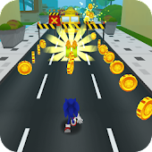 Sonic Flash Speed Fever: Run, Rush, Jump & Dash 3D
