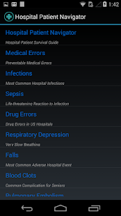 Hospital Patient Navigator - screenshot