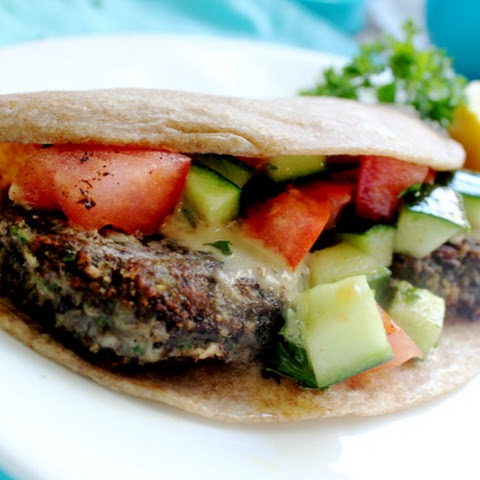 Black Bean Falafel Patties