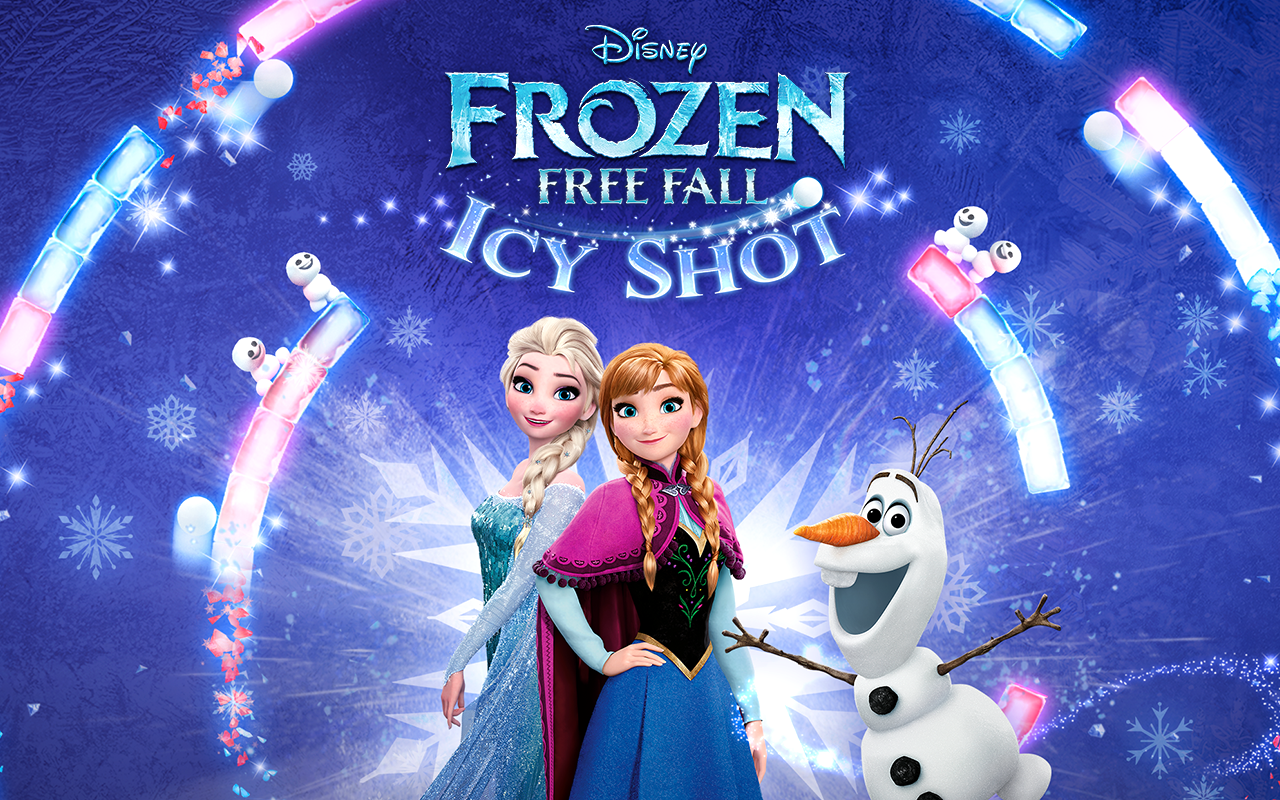 Frozen Free Fall: Icy Shot Screenshot 4