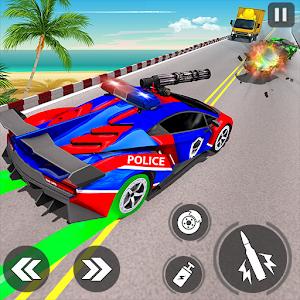 Police Car Racing Simulator: Traffic Shooting Game For PC / Windows 7/8/10 / Mac – Free Download